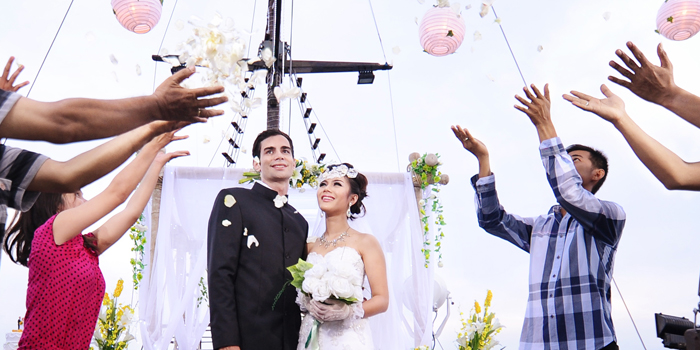 Wedding on board Bali 1