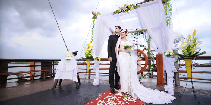 Wedding on board Bali 2