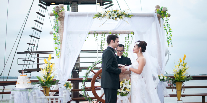 Wedding on board Bali 5